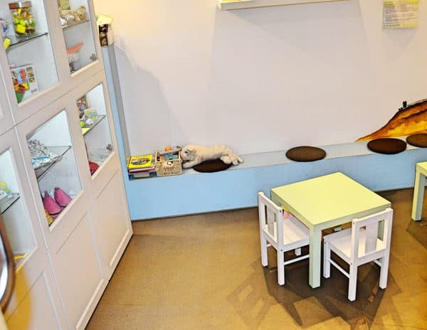Cafe de Bambini in München - Kinder-Spielbereich