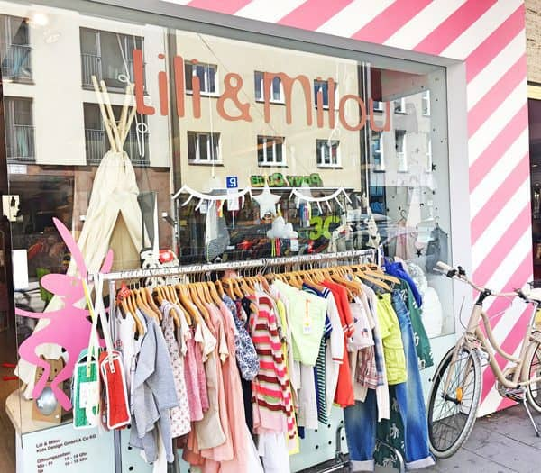 Lili et Milou Einkaufsladen für Babybekleidung - the urban kids