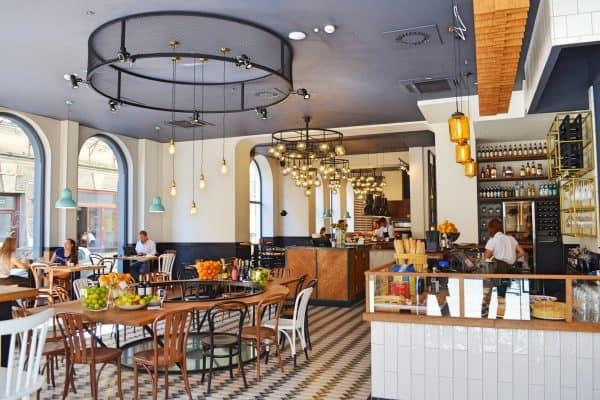 Tolles Design Restaurant für Familien Trattoria Degusti