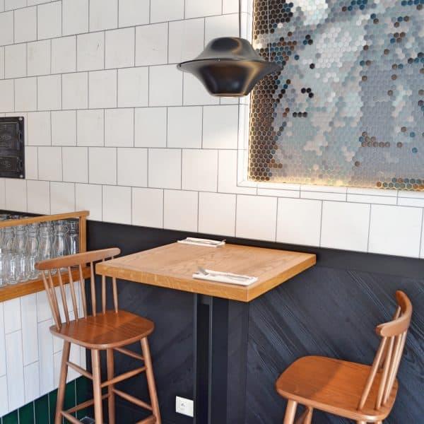 Sitzmöglichkeiten im Restaurant Trattoria Degusti