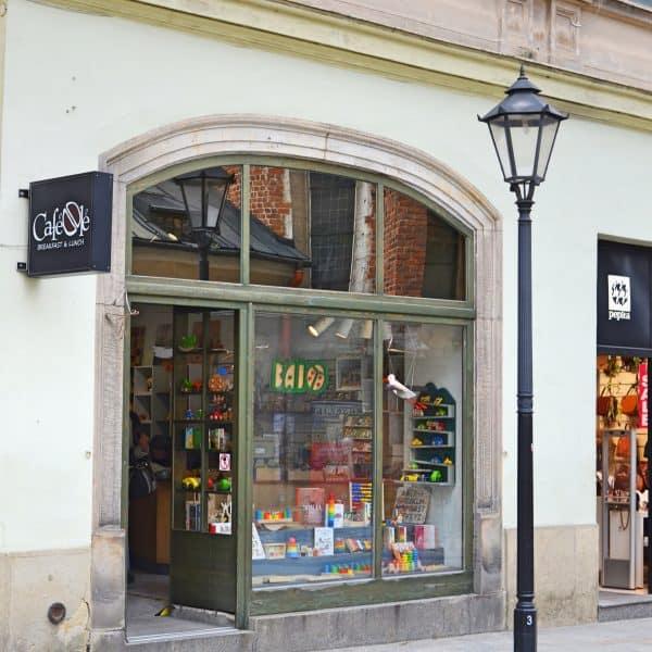 Kinderspielzeugladen in Krakau