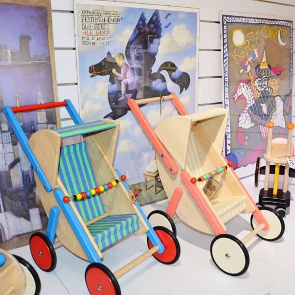 Kinderladen mit Holzspielzeug