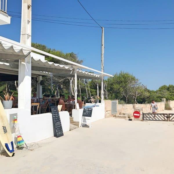 Bar Esperanza Ses Covetes Strandbar Kinderfreundlich Mallorca