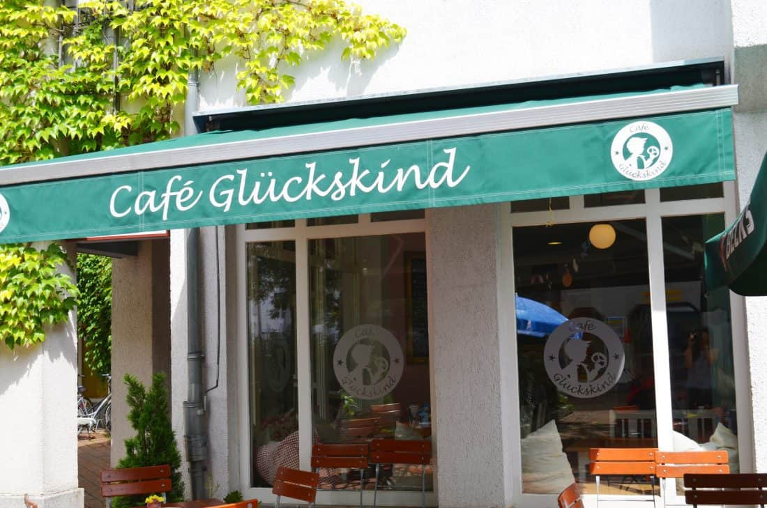 FAMILIENCAFÉ CAFÉ GLÜCKSKIND IN MÜNCHEN