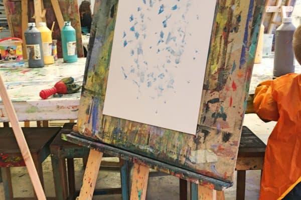 Kinderkunsthaus München Indoor; Malen mit Kindern; Kunst für Kinder