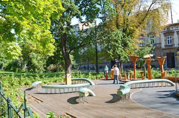 krakau outdoor spielplatz plac zabaw the urban kids. Black Bedroom Furniture Sets. Home Design Ideas