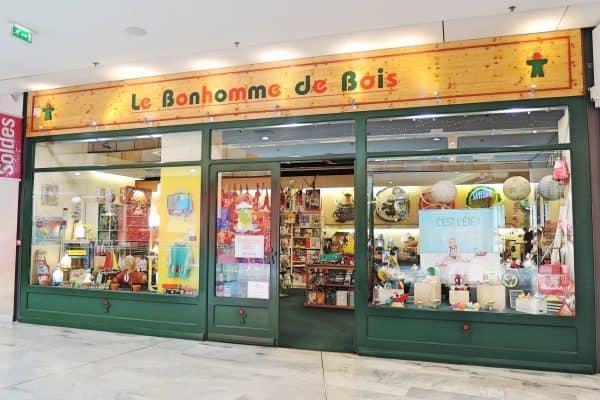 Eingang zum Kinderspielzeugladen in Toulouse