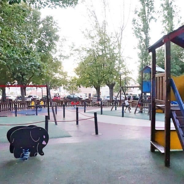 Lissabon Spielplatz Santa Clara
