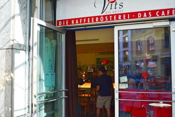 Muenchen Cafe Vits kinderfreundlich