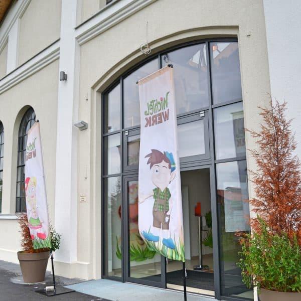 München Indoorspielplatz Wichtelwerk Eingang