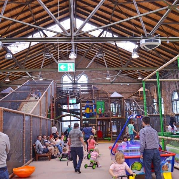 München Indoorspielplatz Wichtelwerk