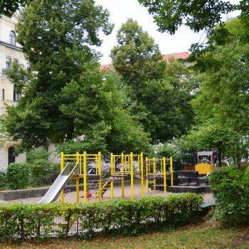 München Outdoor Spielplatz Pündterplatz