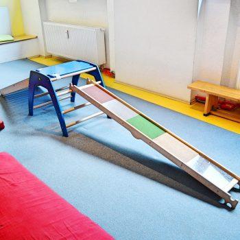 München kleine Sportgeister Turncafe Indoor Pikler