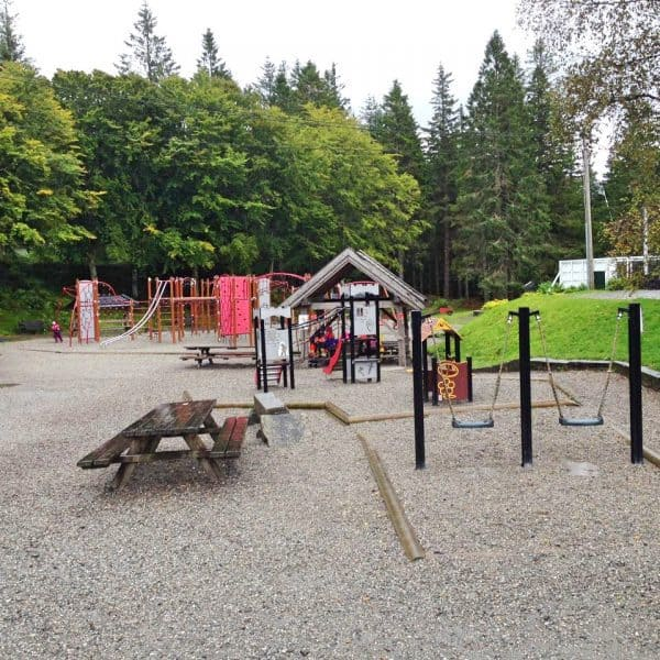 Bergspielplatz für Kinder in Bergen
