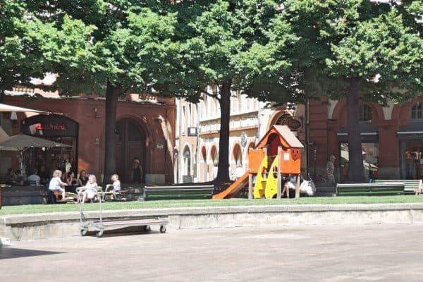 Spielplatz Place St. Georges Toulouse