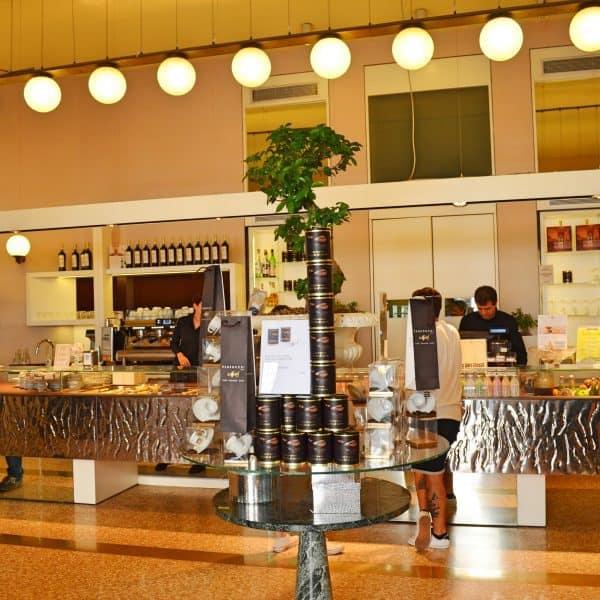 Familienfreundliches Cafe in Padua