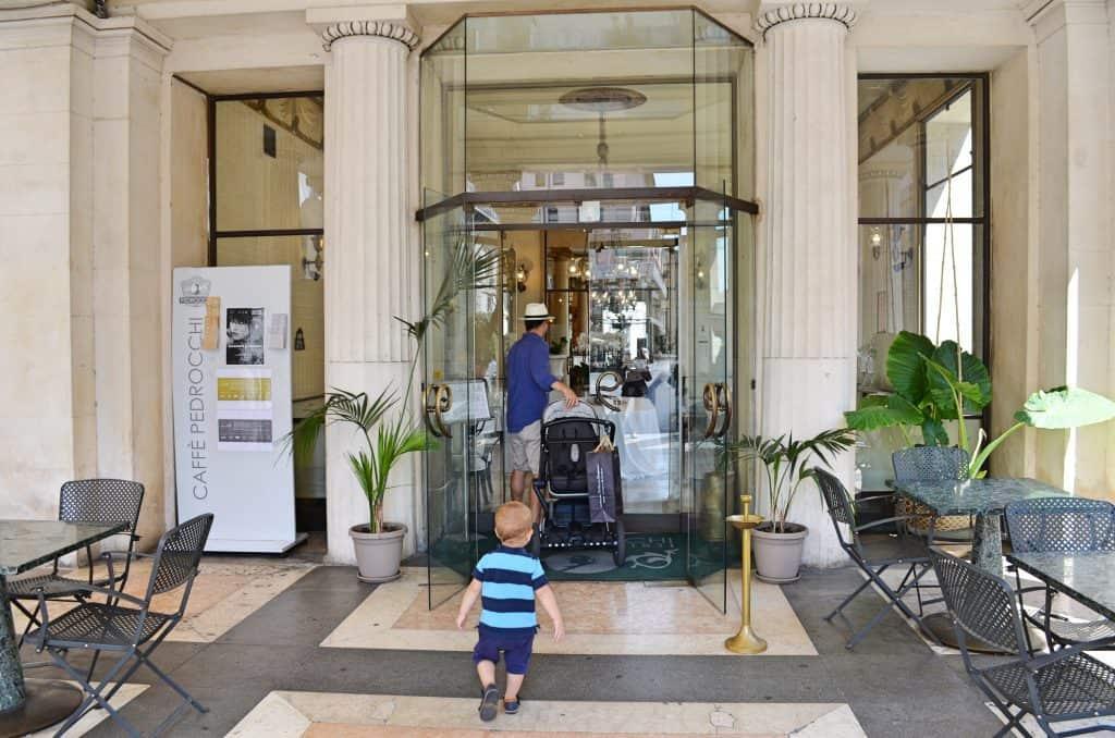 Padua Cafe Pedrocchi Eingang
