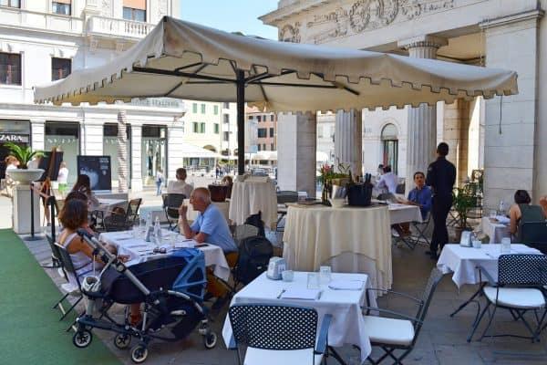 Padua Cafe Pedrocci Aussenbereich