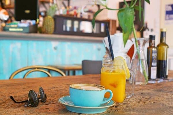 Santina Palma de Mallorca kinderfreundliches Cafe mit vielen gesunden Gerichten