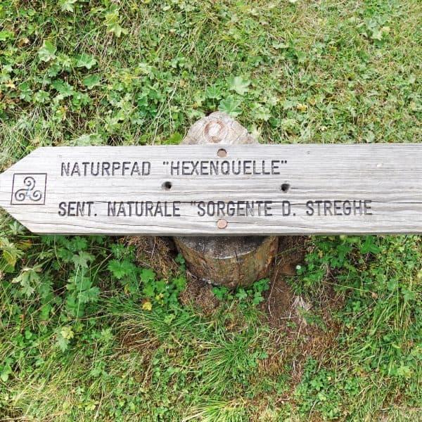 Seiser Alm Dolomiten Wanderweg mit Kindern Naturpfad