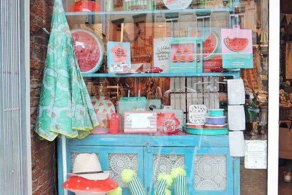 Shop le petit souk Schaufenster Toulouse