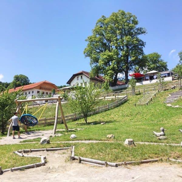 Tegernsee Gut Kaltenbrunn München Kinderfreundliches Retaurant mit Spielplatz