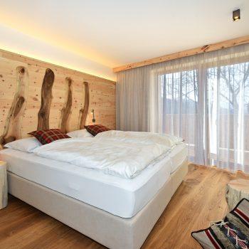 Wohnung Trametschhütte Bett