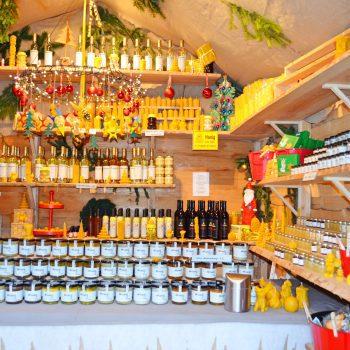 Chinesischer Turm Englischer Garten München mit Kind Weihnachtsmarkt mit Kind München Omas Geschichtenstall Weihnachtsgeschichten für Kinder Weihnachtsgebäck Weihnachtsplätzchen Honig handgemachtes