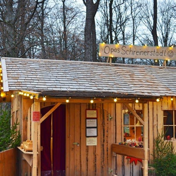 Chinesischer Turm Englischer Garten München mit Kind Weihnachtsmarkt mit Kind München Omas Geschichtenstall Weihnachtsgeschichten für Kinder Opas Schreinderstadl