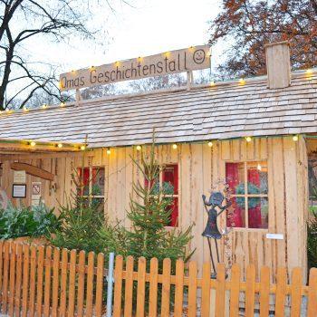 Chinesischer Turm Englischer Garten München mit Kind Weihnachtsmarkt mit Kind München Omas Geschichtenstall Weihnachtsgeschichten für Kinder