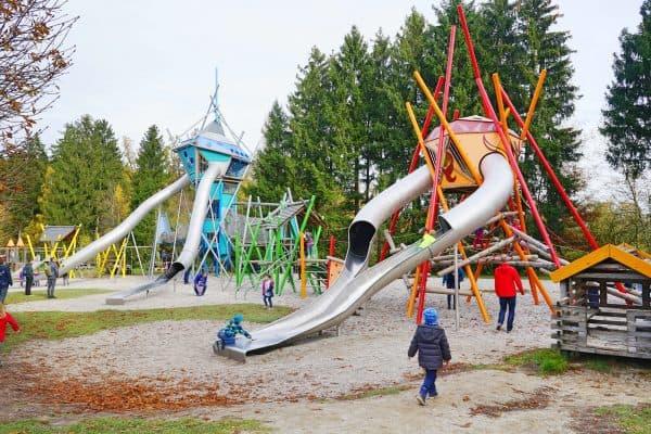 Wildpark, Ausflug mit Kindern, Tiere, Spielplatz, Outdoor Spielplatz