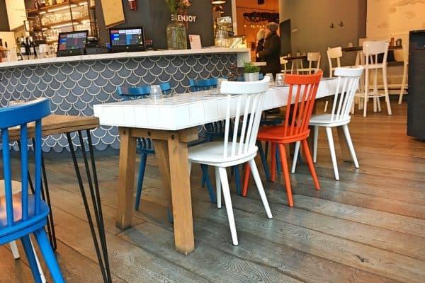 Seaside Restaurant mit Familien kinderfreundliches Restaurant Kürbisrisotto