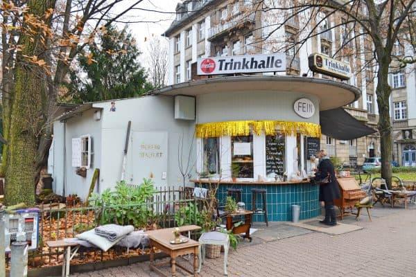 Frankfurt Spielplatz Lange Straße Trinkhalle