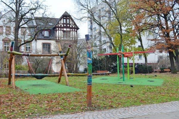 Frankfurt Spielplatz Lange Straße