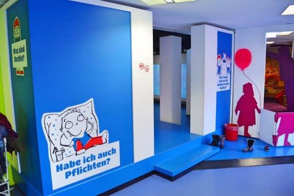 Kindermuseum Frankfurt mit Kind