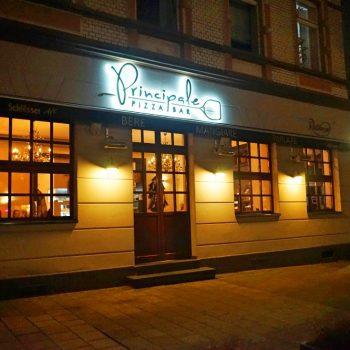 Pizzeria Principale Pizzabar in Düsseldorf Flingern, kinderfreundlich mit Kinderecke, Hochstühlen und Wickelmöglichkeit