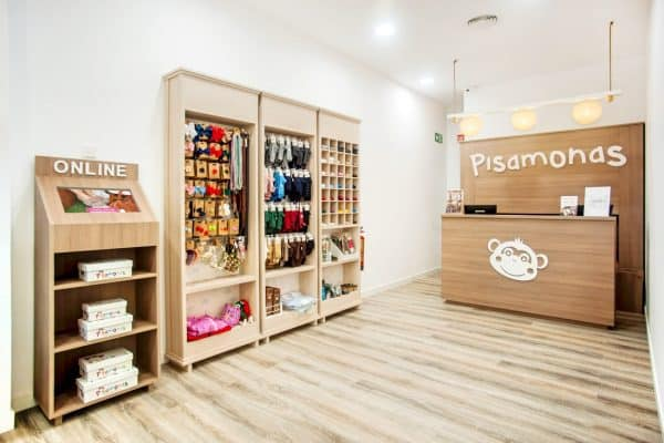Kids shoe store Barcelona - Pisamonas