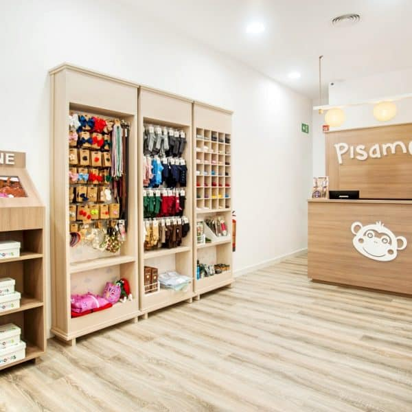 Kids shoe store Barcelona - Pisamonas