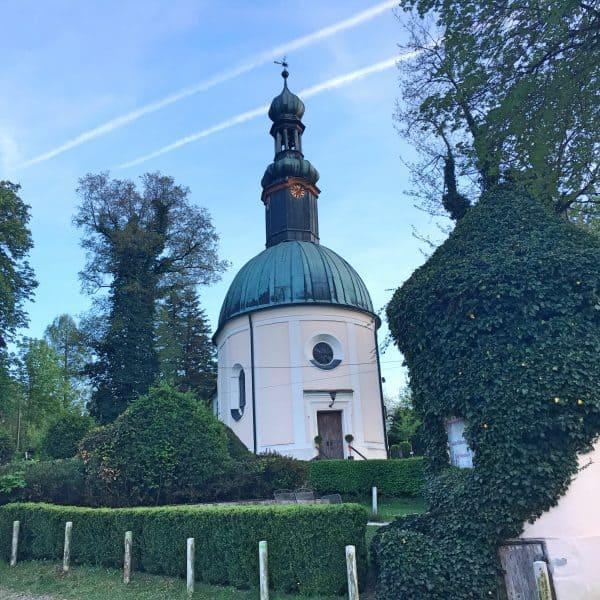 kinderfreundlicher Biergarten Schlosswirtschaft Mariabrunn