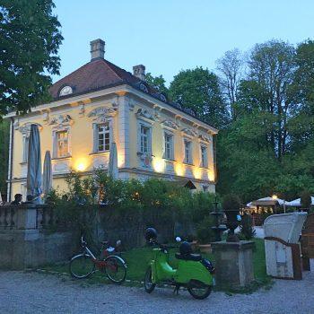 kinderfreundlicher Biergarten Bamberger Haus in München im Luitpoldpark
