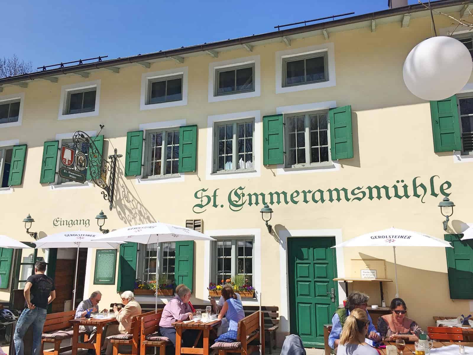 BIERGARTEN SANKT EMMERAMSMÜHLE AM ENGLISCHEN GARTEN