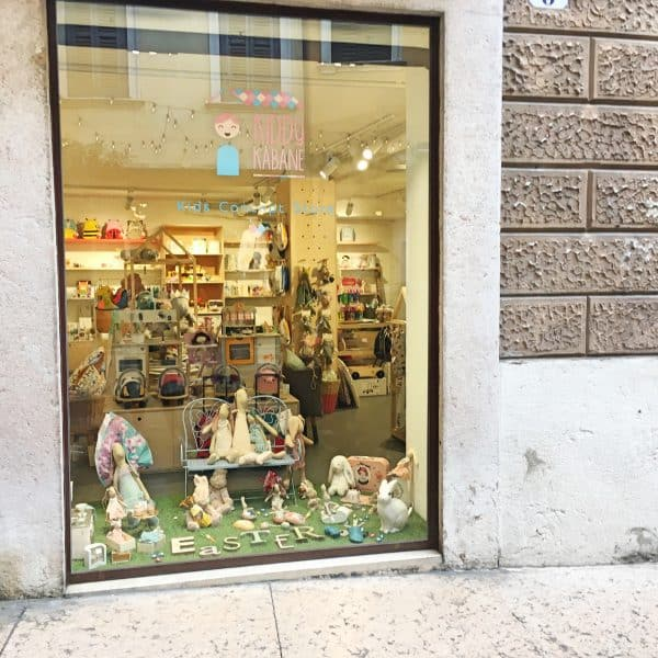 Kiddy Kabane_ConceptStore_Verona with kids