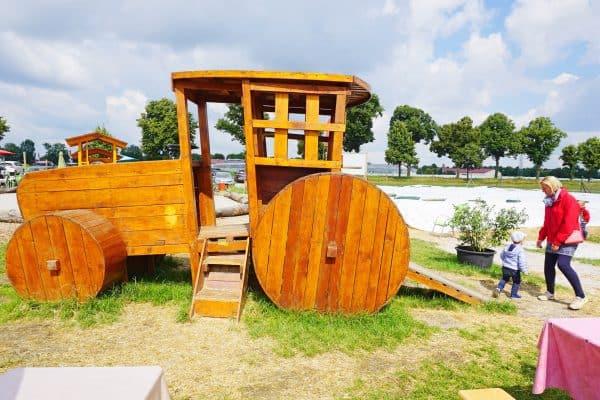 Hofreiter Beerencafes in München Lochhausen, kinderfreundlich mit Spielplatz