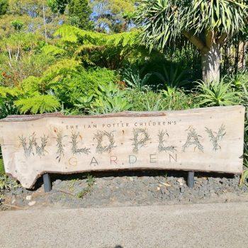 Wild play garden Autralia Sydney Sydney with children
