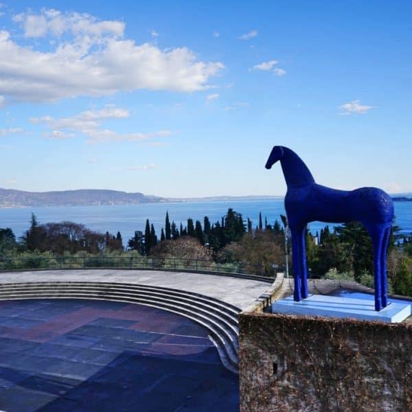 Park Vittoriale degli Italiani in Gardine Riviera im Südosten des Gardasees