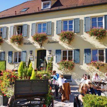 kinderfreundlicher Biergarten Aumeister in München beim Englischen Garten