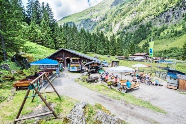 Obere Astenalm Spielplatz Bad Gastein mit Kindern