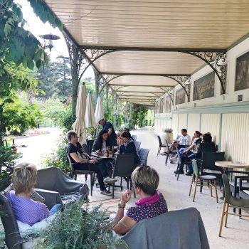kinderfreundliches Café Wandelhalle in Meran Italien, children-friendly café in Merano Italy
