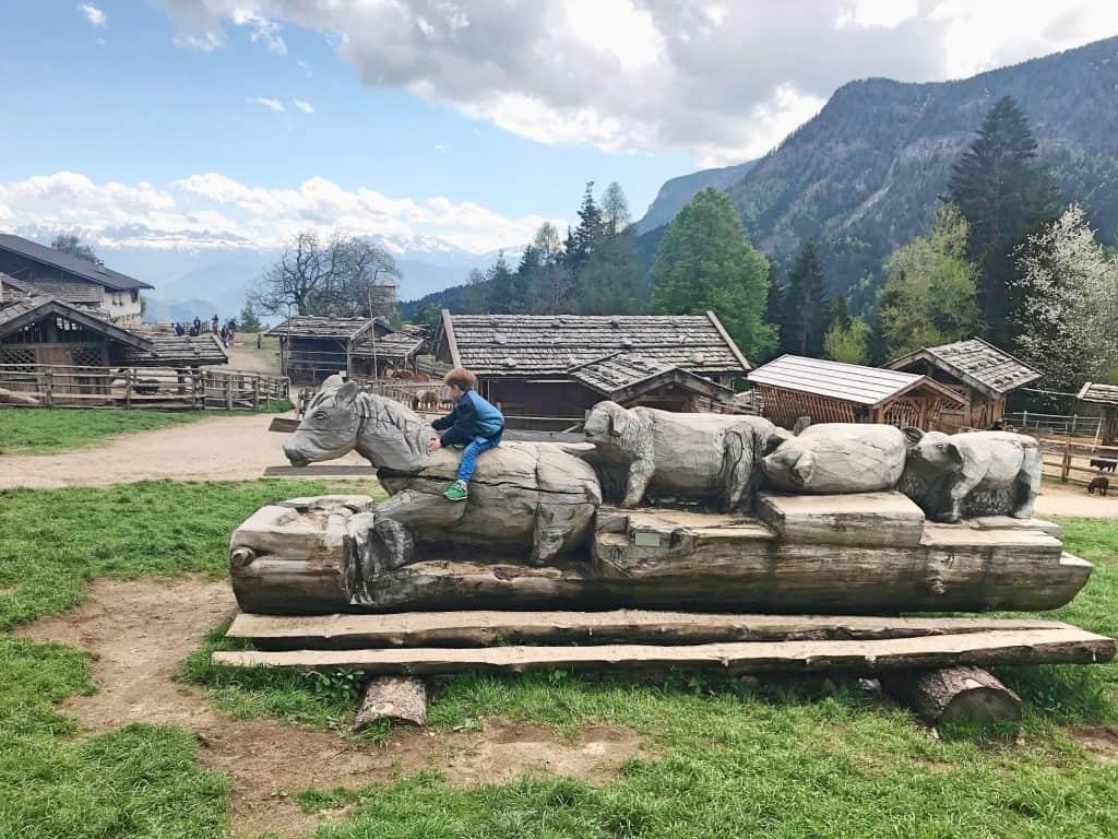 Tierwelt Fattoria Rainguthof in Bad Gfrill Italien