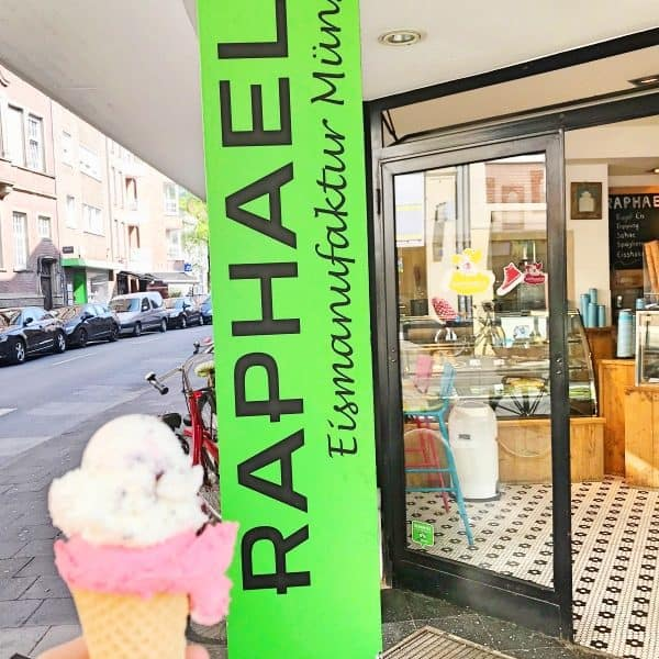 Bestes Eis in Münster bei Raphaels Eismanufaktur